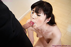 Sucking Spent Cock Face Covered With Cum