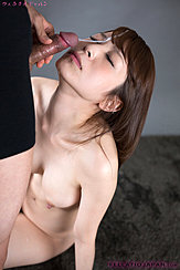 Aoi Sakura Receiving Facial Cumshot