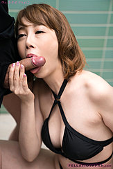 Kisaki Aya Wrapping Her Lips Around Cock Shaft Big Breasts