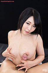 Fondling Breast Rubbing Cock Against Her Breasts