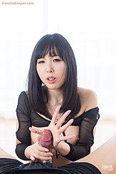 Yokoyama Natsuki Giving Handjob