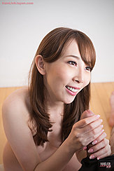 Kisaki Aya Giving Handjob