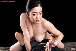 Enami Ryu Holding Spent Cock