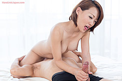 Kuroki Ayumi Face Sitting Nude Short Hair Big Tits Holding Cock