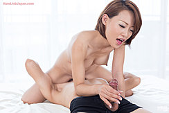 Giving Handjob Face Sitting