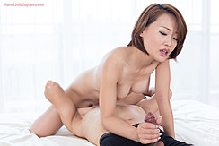 Seated On Mans Face Naked Holding Erect Cock