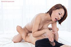 Kuroki Ayumi Face Sitting Teasing Hard Cock