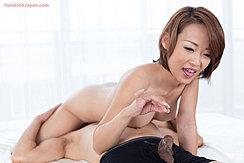 Kuroki Ayumi Playing With Cum