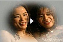Aki Tomozaki And Mayumi Kusunoki Fondling Their Big Breasts